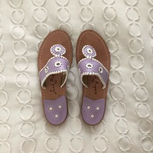 Jack Rogers palm beach pastel purple size 6